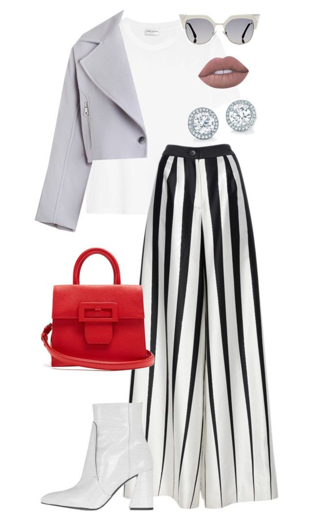 """""""Spring is here"""" by trend-anonymous on Polyvore featuring Yves Saint Laurent, Zimmermann, Tome, Topshop, Maison Margiela, Lime Crime and Fendi"""