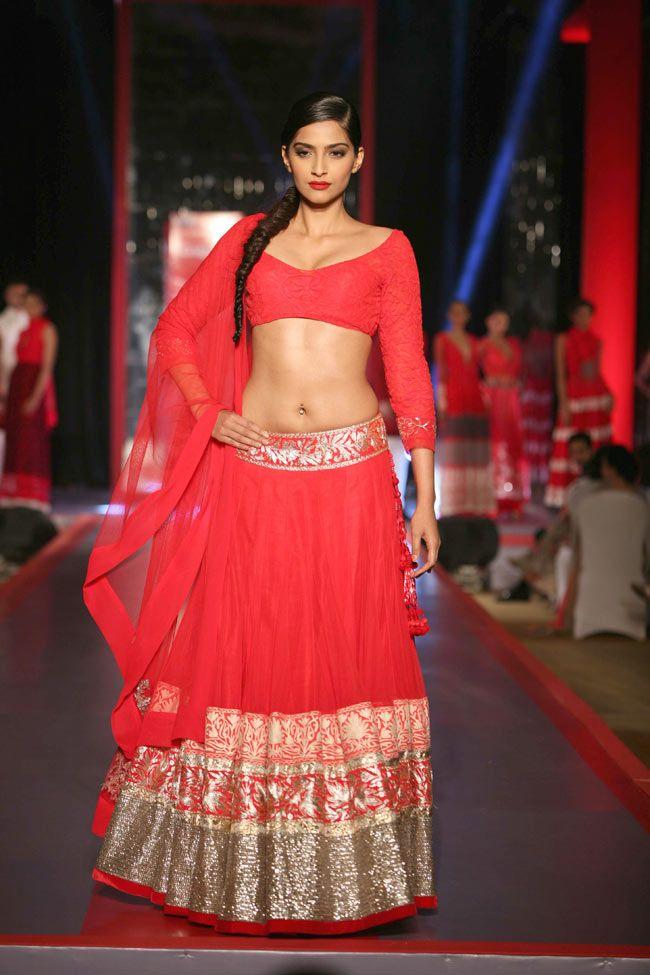 @SonamAKapoor dazzles in a Bright & Beautiful Manish Malhotra  https://www.facebook.com/manishmalhotrapage - https://twitter.com/ManishMalhotra1 #Desi #Lehenga April 25, 13  | India Today |