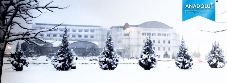 Anadolu Sağlık Merkezi' nde kış..