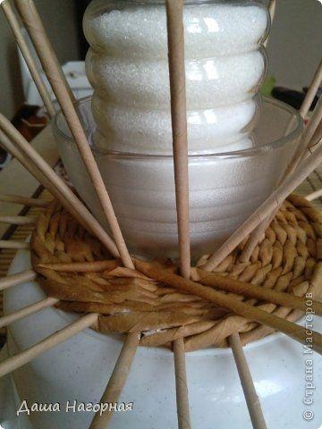 Плетение из газет. Чайные чашки. Мастер-класс (18) (360x480, 89Kb)