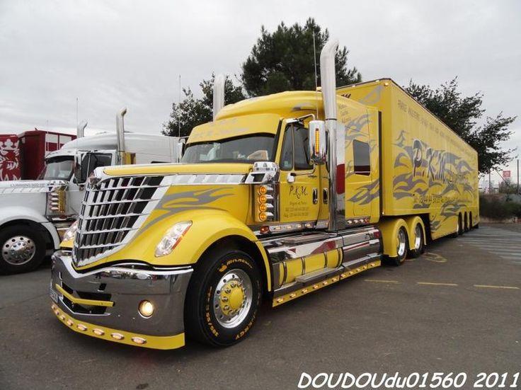Les 25 meilleures id es de la cat gorie camions tunings et - Camion benne americain ...
