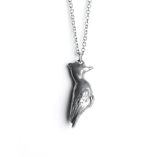Le Empathetic Woodpecker Totem Necklace my birthday is June 5th so id like one of these