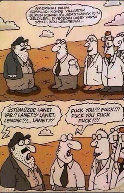 Küfür kıyamet köy  Tarım bahçe garden  Fuckuyou  Komedi karikatür dram