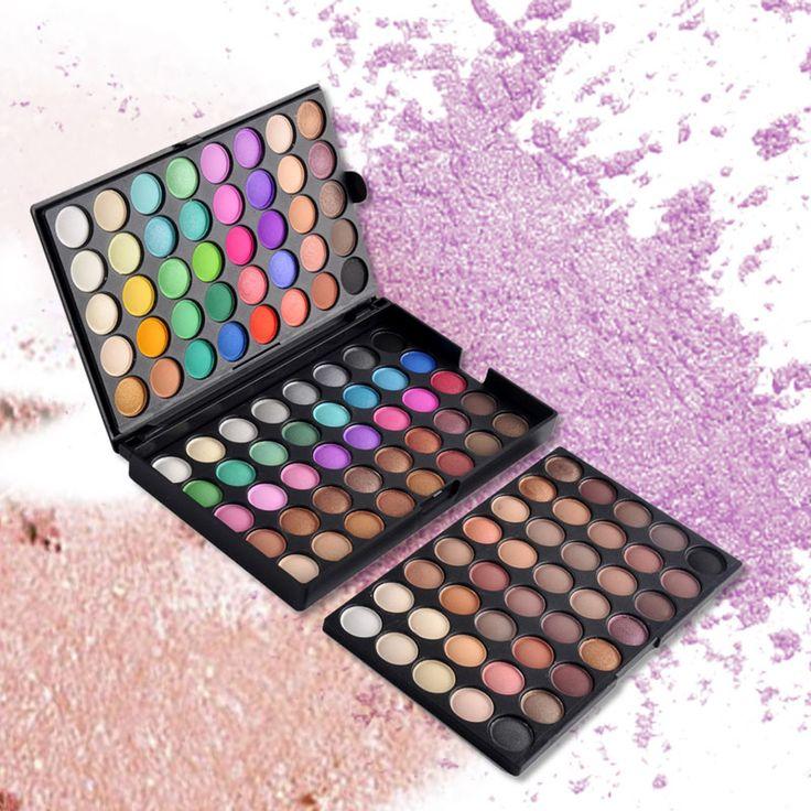 120 kleuren popfeel oogschaduw cosmetische poeder nude oogschaduw palet make matte natuurlijke langdurige schoonheid maquiagem