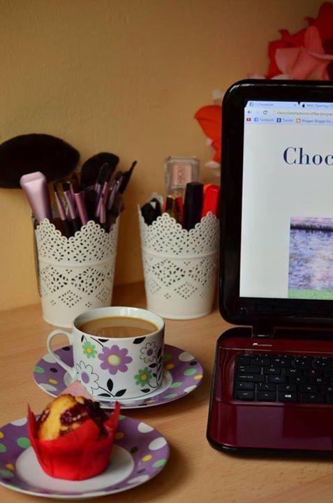 morning, breakfast, muffin, coffee, make up, blogging  http://chocolatefashioncoffee.blogspot.ro/