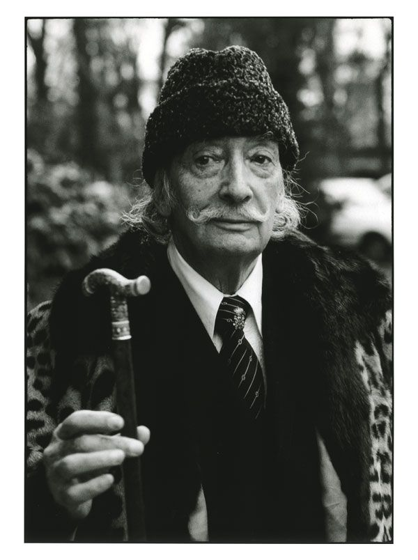 Portrait de Salvador Dali, par le photographe Serge Benhamou - Tirage original Smooth Fine Art | PHOTO MEMORY