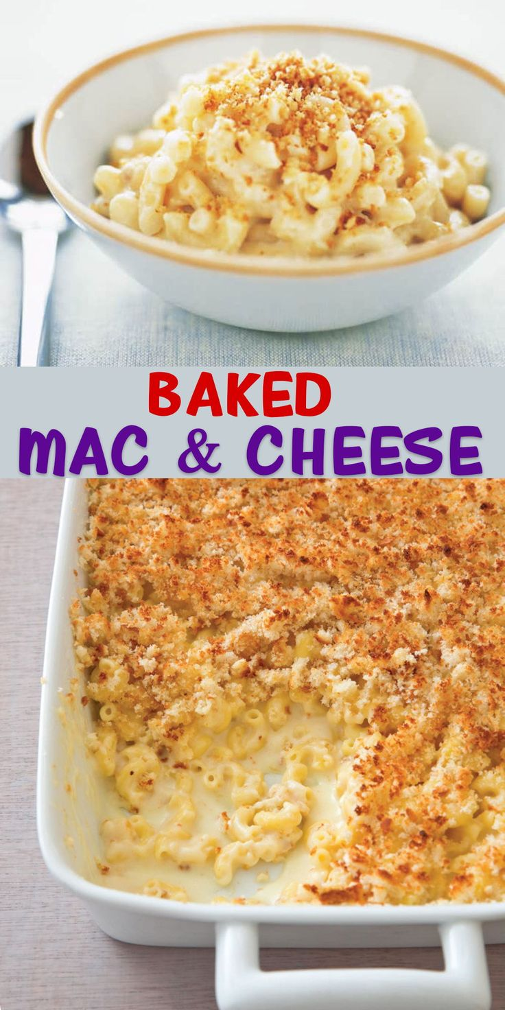 How to make classic baked macaroni and cheese in 2020