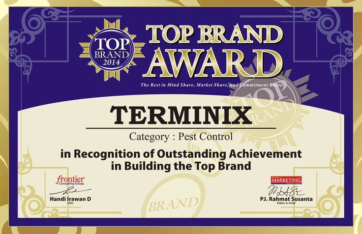 A Recognition for Terminix