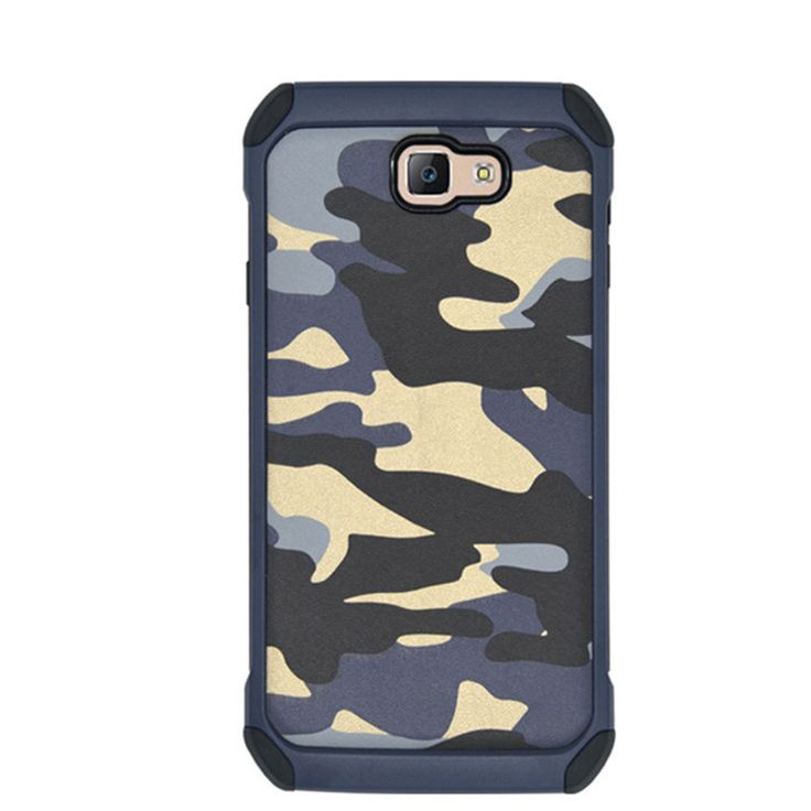 Fashion Camo Phone Case For Samsung Galaxy J5 Prime J7 Prime Plastic & TPU Hard Cover Camouflage Style Armor Protector On7 2016