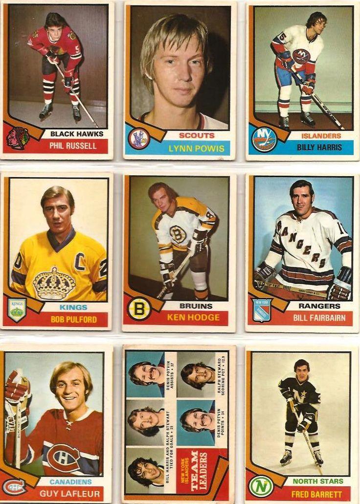 226-234 Phil Russell, Lynn Powis, Billy Harris, Bob Pulford, Ken Hodge, Bill…