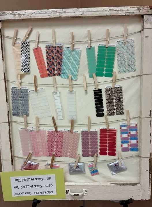 Jamberry Booth display