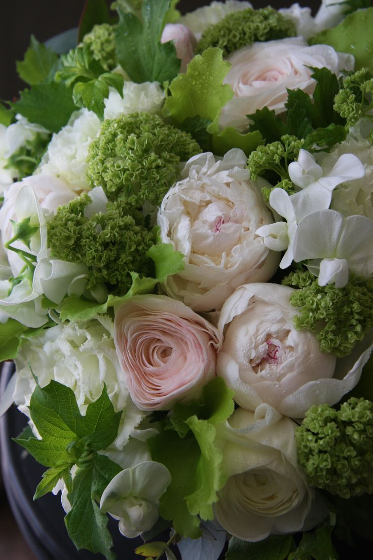 best Green images on Pinterest Flower arrangements Table