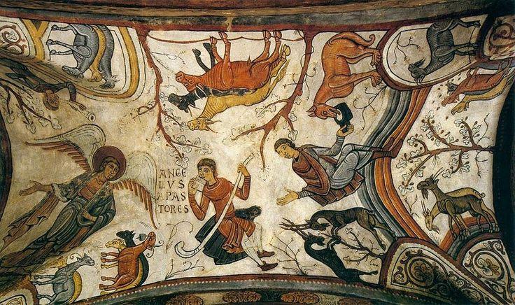 Anunciación a los pastores, s Isidoro. León
