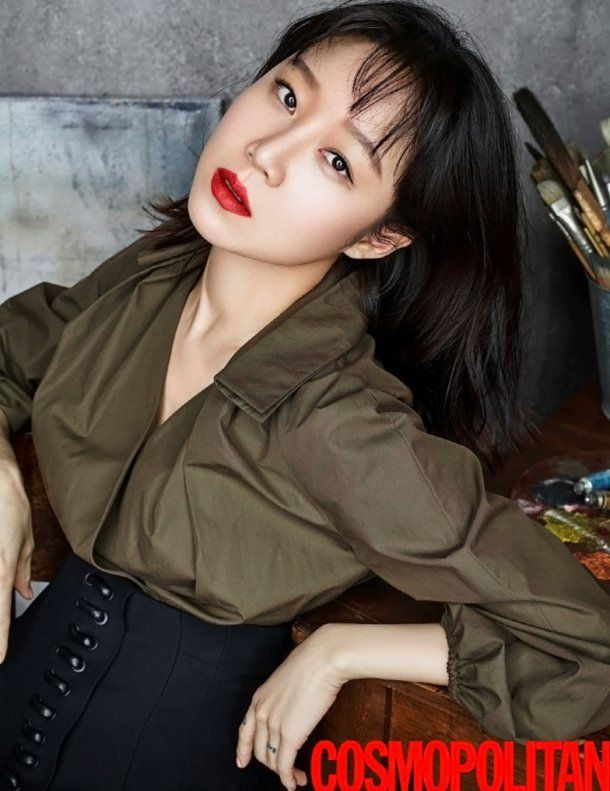 "Gong Hyo Jin Stuns Viewers with ""Cosmopolitan"" Photoshoot | Koogle TV"