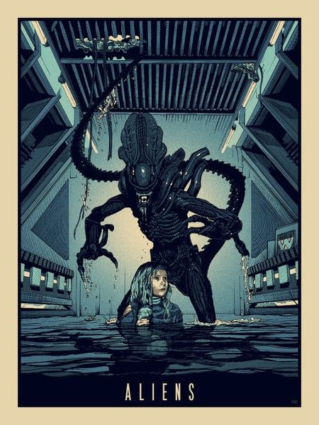 """Aliens"" by New Flesh"