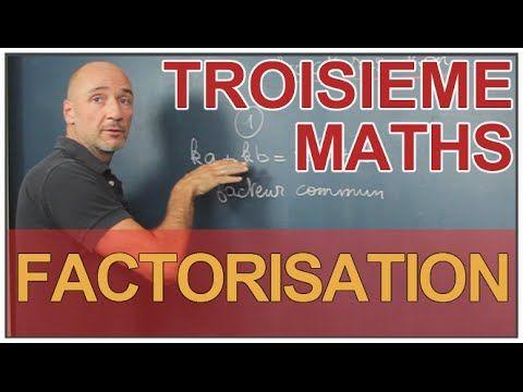 Maths 3eme - factorisation - Maths College
