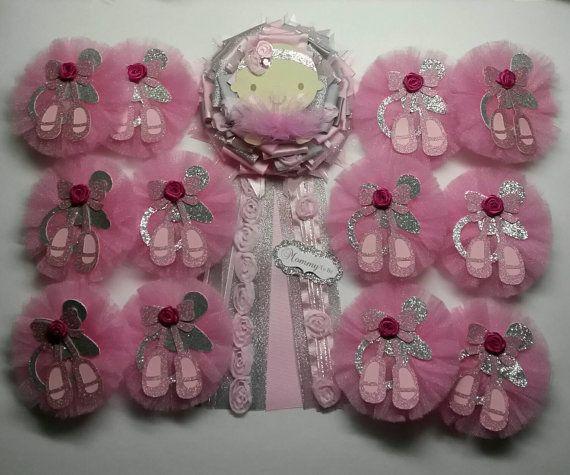 17 Best Ideas About Ballerina Baby Showers On Pinterest