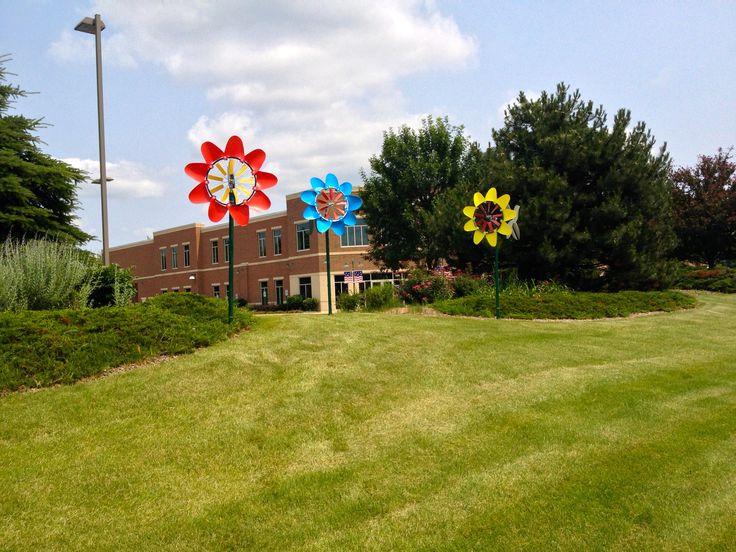 Windflower Kinetic Garden Sculptures At Colderu0027s Furniture, Delafield, ...