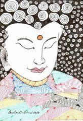 569 Zentangle Buddha