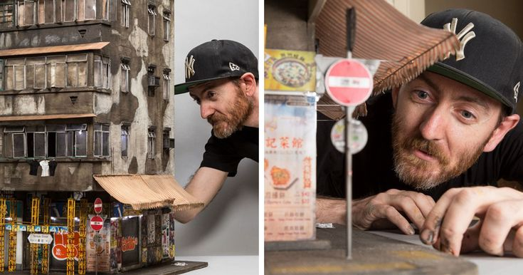 Urban Miniature Cities So Detailed You'll Need A Magnifying Glass   Bored Panda