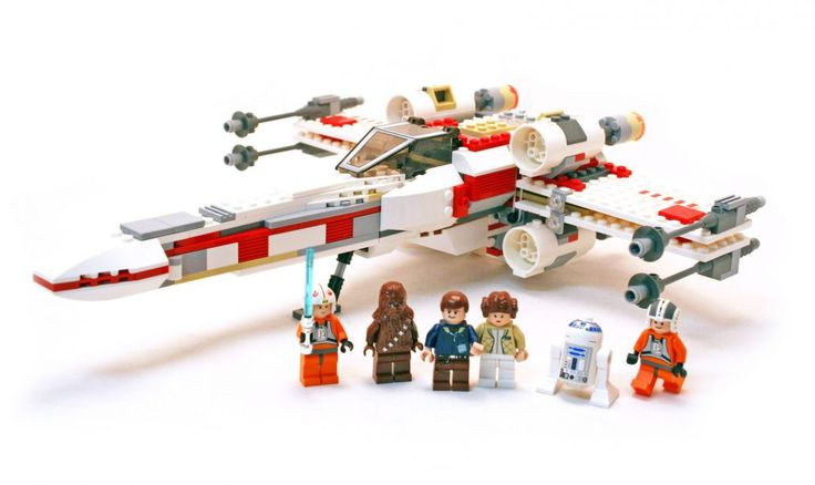 Reviewing LEGO Set 6212 Star Wars X-wing Fighter