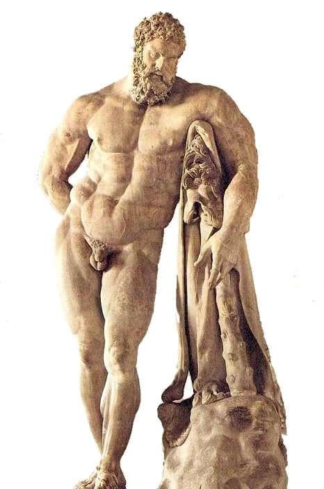 Odpoczywający Herakles Farnezyjski