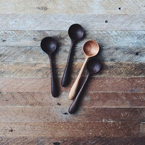 iron-and-wind:  Wooden spoons.