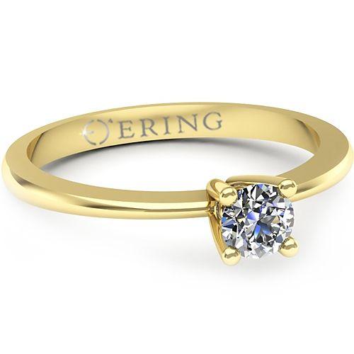 Inel logodna L10GDI Inel cu diamant