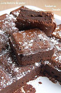 Brownie au gateau au chocolat difference