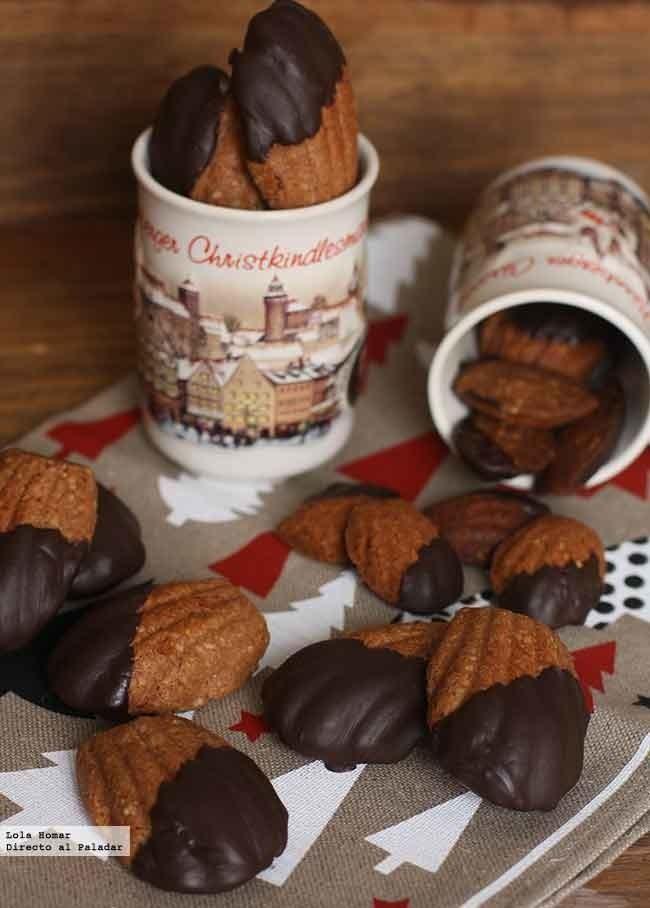 Receta de zarpas de oso. Receta de galletas de Navidad. Con fotos de presentación y del paso a paso y consejos de elaboración y de...