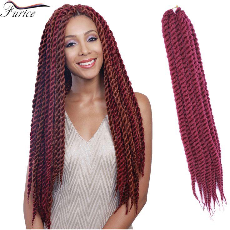 Aliexpress.com : Buy 12 Roots Crochet Hair Extensions Havana Mambo Twist Synthetic Braiding Hair Kinky Hair African Braid Styles For Sexy Women from Reliable hair braid styles suppliers on crochet braiding hair extension Store