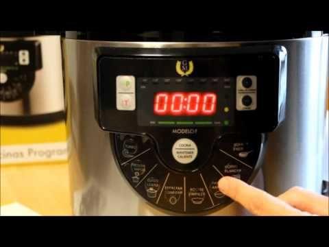 Pentola programmabile OLLAS GM un aiuto in cucina