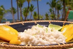 Hugo's exotische kokosrijst met mango - Recept | 24Kitchen