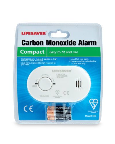 Carbon Monoxide Alarm.. Worth getting one to take on holiday abroad as it's not always compulsory to have a carbon monoxide alarm fitted in a property you may be renting.