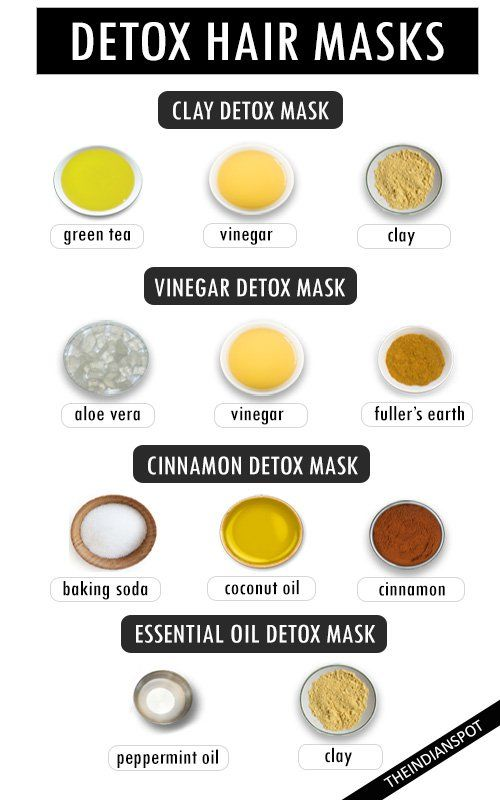 Did you know you could detox your hair? This process removes buildup from over the counter products that damage your hair. The hair care industry makes billions and billions of dollars each year worldwide, but you don't have to contribute to it if you don't want to. It's possible to make your own detox hair mask treatments to strip your scalp of the built up chemicals and toxins and reveal it's naturally clean self. Here are some easy ways to make detox hair masks:  CLAY DETOX MASK Things…