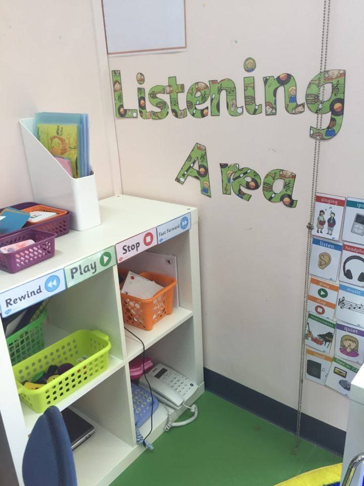Great idea for a listening area in your setting! Fab use of Twinkl resources