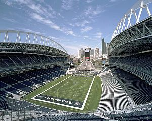 CenturyLink Field where FWV client Russell Wilson plays for the Seattle Seahawks