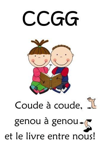 CCGG: coude-à-coude, genou-à-genou - Affiche de crapouilleries.net