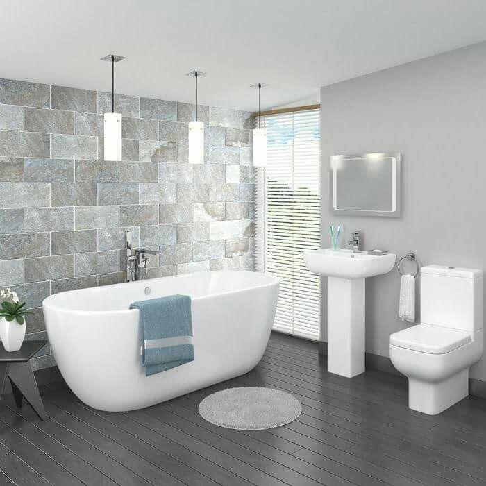 83 best Grey Bathrooms images on Pinterest | Modern ...