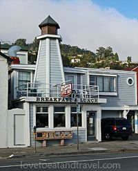 Lighthouse Cafe in Sausalito, CA - Best Breakfasts