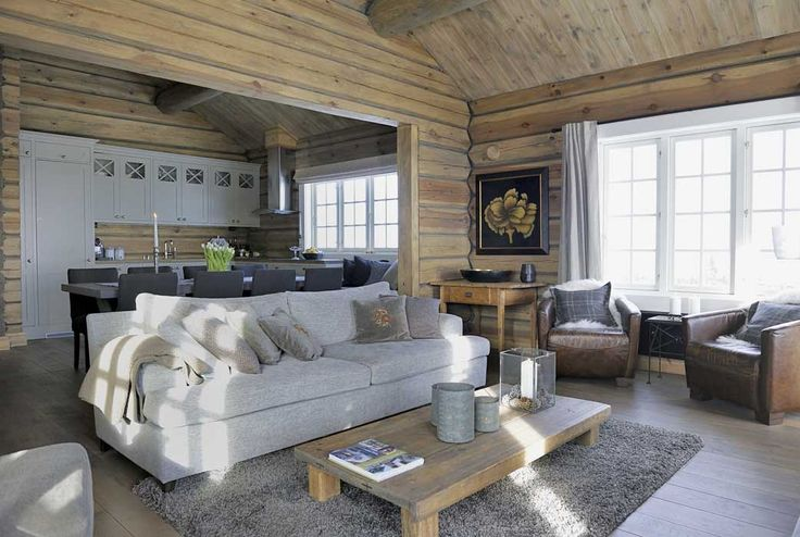 дневник дизайнера: Подлинный дизайн дома в стиле шале, где-то в горах Норвегии