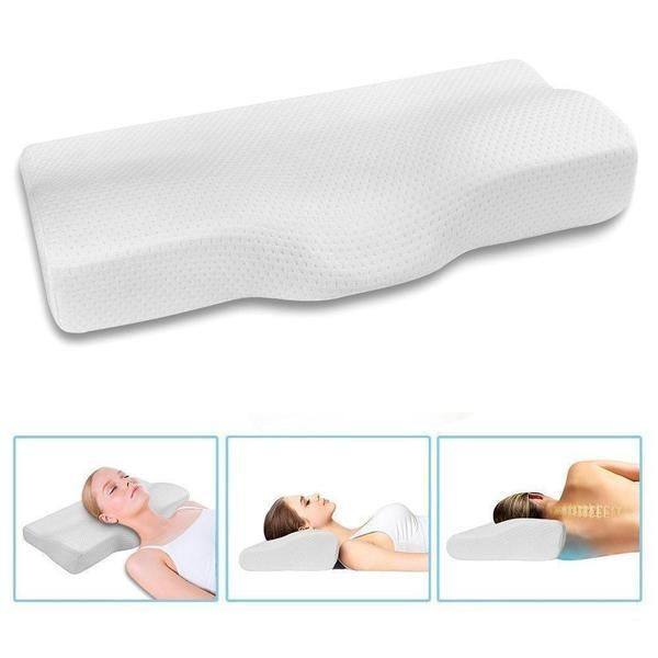 Contoured Cervical Orthopedic Wellness Pillow Cervical Pillows Contour Pillow Best Pillow