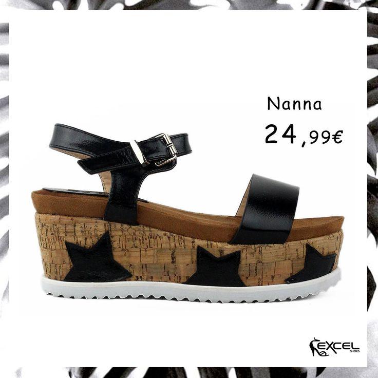 Trendy Black Flatforms! Nanna 24,99€ 🚚 Δωρεάν μεταφορικά για Ελλάδα #excelshoes #ss17 #spring #2017 #shoes #women #womenfashion #fashion #style #trendy#thessaloniki #papoutsia #gunaika #παπουτσια #moda #heels #outfit #springmood #Saturday #skg