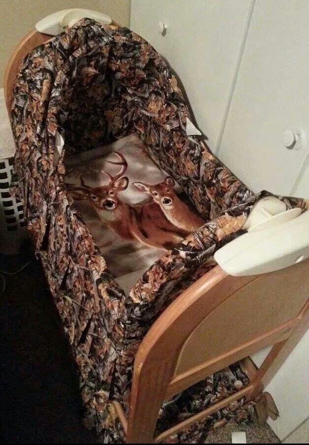 Camo bassinet