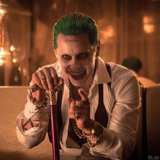 New still of the Joker from Suicide Squad! Source: @fuck_yeah_jared_leto