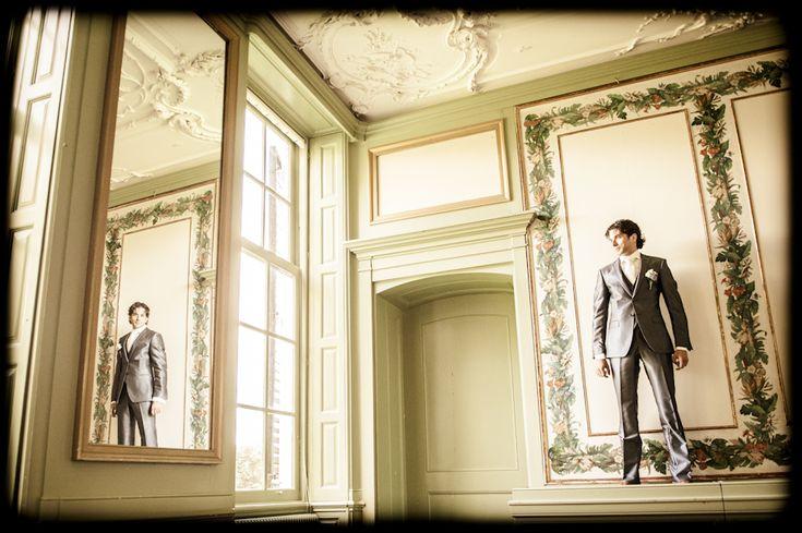 #dutchwedding #groom #bruidegom #photoshoot #landgoedwaterland #Velsen #September #2012 #vintage Photo by Sjoerd Banga, © Banganimation