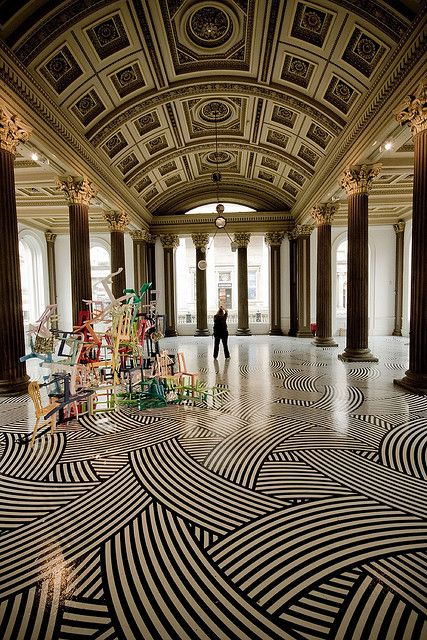 Flooring inspiration ~Glasgow Gallery of Modern Art, Scotland