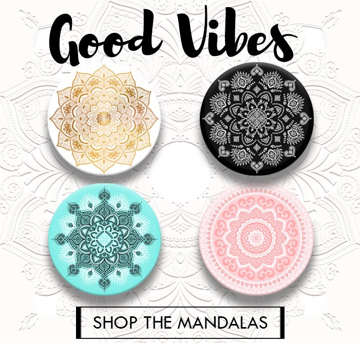 Mandala Popsockets Part Of The Good Vibes Collection