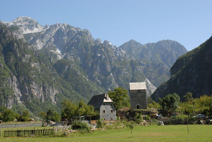 Alpy Albańskie dolina Theth #albania