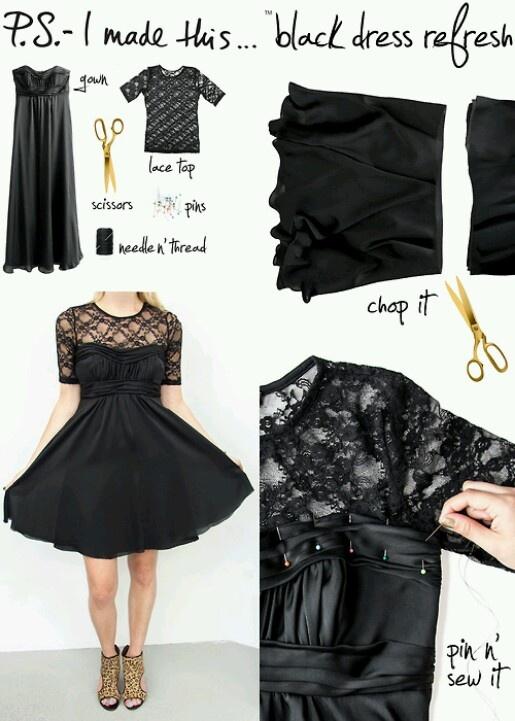 Diy dress very cute